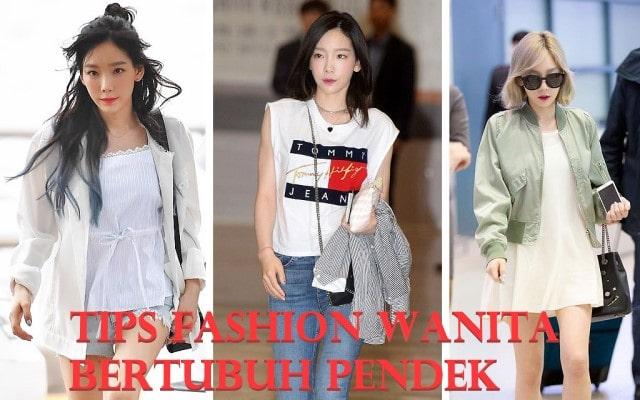 Tips Fashion Wanita Bertubuh Pendek